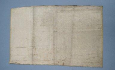 [Missing Catalogue Sheet], 1940s. Metallic thread, 14 1/2 x 23 in. (36.8 x 58.4 cm). Brooklyn Museum, Gift of Alan L. Wolfe, 61.48.44