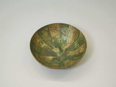 Deep Bowl, 10th century. Clay, 2 11/16 x 8 7/16 in. (6.9 x 21.5 cm). Brooklyn Museum, Gift of Mrs. Joseph M. Schulte, 62.178.2. Creative Commons-BY