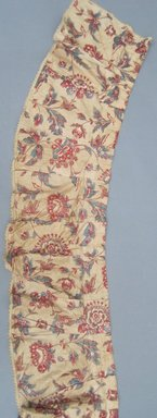 Valances and One Piece of Extra Yardage, ca.1800. Chintz, component a: 11 1/2 x 110 in. (29.2 x 279.4 cm). Brooklyn Museum, Gift of Mae Schenck, 63.4.19a-h. Creative Commons-BY