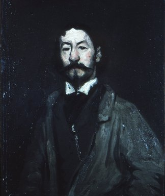 Robert Henri (American, 1865-1929). The Man Who Posed as Richelieu, 1898. Oil on canvas, 31 15/16 x 25 11/16 in. (81.2 x 65.3 cm). Brooklyn Museum, Gift of Roy R. Neuberger and Museum Collection Fund, 63.46