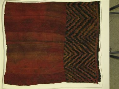 Wari. Tunic, 1000-1532. Cotton, camelid fiber, 34 5/8 x 28 3/8in. (88 x 72cm). Brooklyn Museum, Gift of Jack Lenor Larsen, 63.81.7. Creative Commons-BY