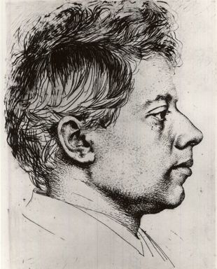 Brooklyn Museum: Portrait of Peter Halm