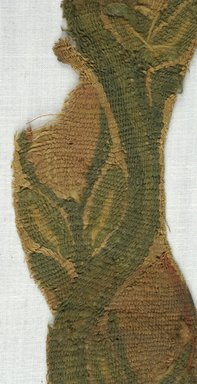 Coptic. Tapestry Strip with Plant Forms, 5th-7th century C.E. Wool, linen, 2 3/8 x 14 3/16 in. (6 x 36 cm). Brooklyn Museum, Gift of Adelaide Goan, 64.114.259