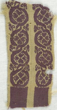 Coptic. Tapestry, 5th-7th century C.E. Linen, wool, 2 x 4 1/4 in. (5.1 x 10.8 cm). Brooklyn Museum, Gift of Adelaide Goan, 64.114.272