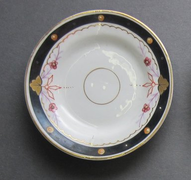 Child's Dish, ca. 1880. Porcelain, 3 3/8 in. (8.6 cm). Brooklyn Museum, Gift of Amelia Beard Hollenback, 66.25.10. Creative Commons-BY