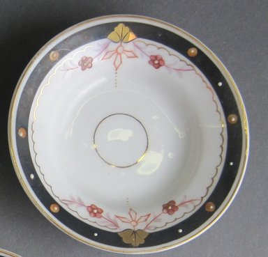 Child's Soup Plate, ca. 1880. Porcelain, 7/8 x 3 3/8 in. (2.2 x 8.6 cm). Brooklyn Museum, Gift of Amelia Beard Hollenback, 66.25.17. Creative Commons-BY