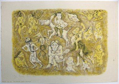 George Biddle (American, 1885-1973). Considerate La Vostra Semenze, 1951. Lithograph, 11 1/4 x 16 in. (28.6 x 40.6 cm). Brooklyn Museum, Gift of George Biddle, 67.185.45. © Estate of George Biddle