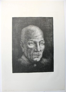 George Biddle (American, 1885-1973). Nehru, 1959. Lithograph, 11 7/8 x 8 7/8 in. (30.2 x 22.5 cm). Brooklyn Museum, Gift of George Biddle, 67.185.72. © Estate of George Biddle