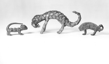 Akan. Animal Weight., 7/8 x 1 7/8 x 3/8 in. (2.2 x 4.8 x 1 cm). Brooklyn Museum, Bequest of Laura L. Barnes, 67.25.17. Creative Commons-BY