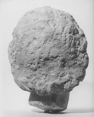 Head of a Youth. Limestone, 10 1/16 x 7 7/8 x 7 1/2 in. (25.6 x 20 x 19 cm). Brooklyn Museum, Charles Edwin Wilbour Fund, 68.151. Creative Commons-BY