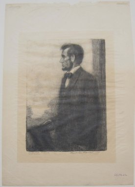 Boardman Robinson (American, 1876-1952). Abraham Lincoln, 1911. Lithograph, Mat: 14 1/4 x 19 5/16 in. (36.2 x 49 cm). Brooklyn Museum, Gift of Mrs. Edwin De T. Bechtel, 68.192.42