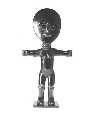 Brooklyn Museum: Fertility Doll (Akuaba)
