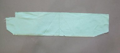 Textile Swatch, 1950s to 1960s. Silk, 21 x 4 3/4 in. (53.3 x 12.1 cm). Brooklyn Museum, Gift of Mrs. Robert G. Olmsted and Constable MacCracken, 69.149.80.12
