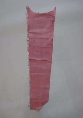 Textile Swatch, 1950s to 1960s. Silk, 6 3/4 x 24 1/2 in. (17.1 x 62.2 cm). Brooklyn Museum, Gift of Mrs. Robert G. Olmsted and Constable MacCracken, 69.149.80.13