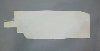 Textile Swatch, 1950s to 1960s. Silk, 23 1/2 x 7 3/4 in. (59.7 x 19.7 cm). Brooklyn Museum, Gift of Mrs. Robert G. Olmsted and Constable MacCracken, 69.149.80.5