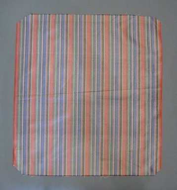Textile Swatch, 1950s to 1960s. Silk, 19 x 20 3/4 in. (48.3 x 52.7 cm). Brooklyn Museum, Gift of Mrs. Robert G. Olmsted and Constable MacCracken, 69.149.80.51