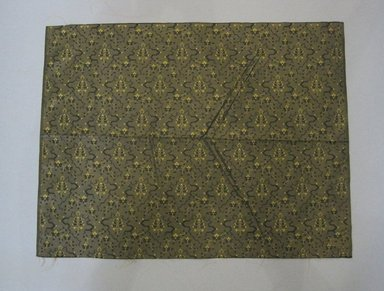 Textile Swatch, 1950s to 1960s. Silk, 15 1/2 x 20 in. (39.4 x 50.8 cm). Brooklyn Museum, Gift of Mrs. Robert G. Olmsted and Constable MacCracken, 69.149.80.71