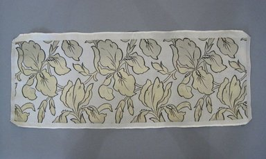 Textile Swatch, 1950s to 1960s. Silk, 23 x 9 in. (58.4 x 22.9 cm). Brooklyn Museum, Gift of Mrs. Robert G. Olmsted and Constable MacCracken, 69.149.80.81