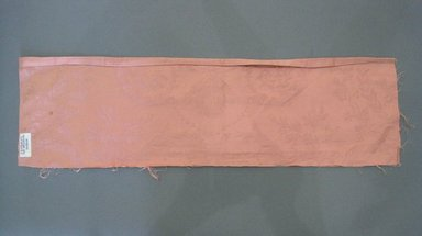Textile Swatch, 1950s to 1960s. Cotton, 24 1/2 x 7 1/4 in. (62.2 x 18.4 cm). Brooklyn Museum, Gift of Mrs. Robert G. Olmsted and Constable MacCracken, 69.149.80.97