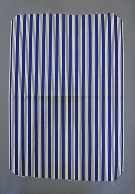 Textile Swatch, 1950s to 1960s. Silk or synthetic fiber, 20 x 29 in. (50.8 x 73.7 cm). Brooklyn Museum, Gift of Mrs. Robert G. Olmsted and Constable MacCracken, 69.149.80.98