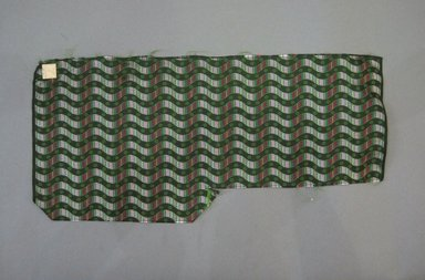 Textile Swatch, 1950-1960. Silk, 21 1/2 x 10 in. (54.6 x 25.4 cm). Brooklyn Museum, Gift of Mrs. Robert G. Olmsted and Constable MacCracken, 69.149.81.102