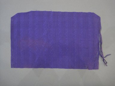 Textile Swatch, 1950s to 1960s. Silk, 20 1/4 x 12 1/2 in. (51.4 x 31.8 cm). Brooklyn Museum, Gift of Mrs. Robert G. Olmsted and Constable MacCracken, 69.149.81.104