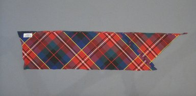 Textile Swatch, 1950s to 1960s. Silk, 32 1/2 x 7 in. (82.6 x 17.8 cm). Brooklyn Museum, Gift of Mrs. Robert G. Olmsted and Constable MacCracken, 69.149.81.118