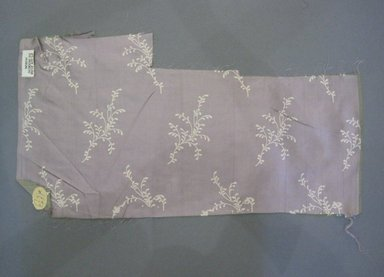 Textile Swatch, 1950s to 1960s. Silk, 21 x 11 in. (53.3 x 27.9 cm). Brooklyn Museum, Gift of Mrs. Robert G. Olmsted and Constable MacCracken, 69.149.81.30