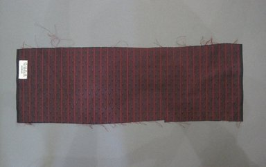 Textile Swatch, 1950s to 1960s. Silk, 20 x 7 in. (50.8 x 17.8 cm). Brooklyn Museum, Gift of Mrs. Robert G. Olmsted and Constable MacCracken, 69.149.81.88