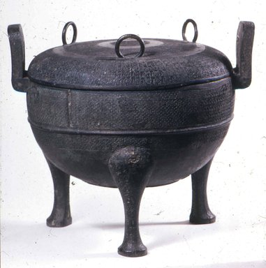 Tripod Food Vessel (Ding), ca. 5th-3rd century B.C.E. Bronze, 11 3/8 x 11 1/2 in. (28.9 x 29.2 cm). Brooklyn Museum, Gift of Mr. and Mrs. Arthur Wiesenberger, 69.164.14. Creative Commons-BY