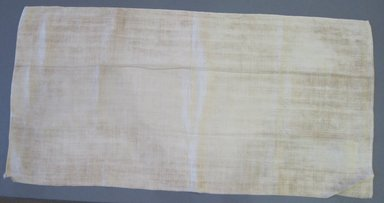American. Pillow Slip, early 19th century. Linen, 33 1/2 x 16 1/2 in. (85.1 x 41.9 cm). Brooklyn Museum, Gift of Theodora Briggs, 70.163.5. Creative Commons-BY
