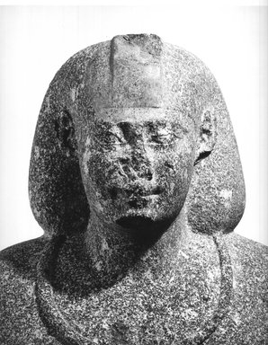 Brooklyn Museum: Egyptian Statue of an Official in Persian Costume