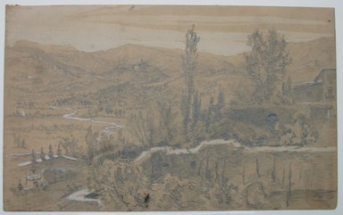 Brooklyn Museum: Landscape Sketch