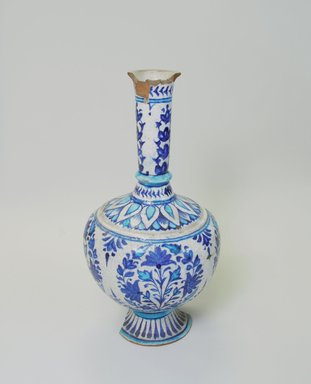 Vase, 19th century. Ceramic, 12 15/16 x 6 1/2 in. (32.8 x 16.5 cm). Brooklyn Museum, Gift of Alvin Devereux, 72.85.1. Creative Commons-BY