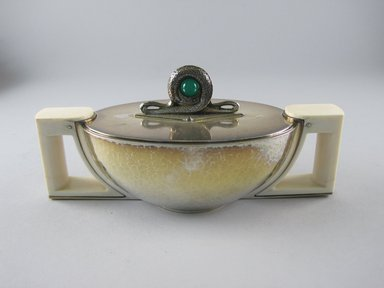 Brooklyn Museum: Sugar Bowl with Cover