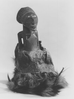Songye. Power Figure (Nkishi), late 19th or early 20th century. Wood, fur, hide, h: 7 3/4 in. (19.8 cm). Brooklyn Museum, Gift of Gaston T. de Havenon, 73.179.8. Creative Commons-BY