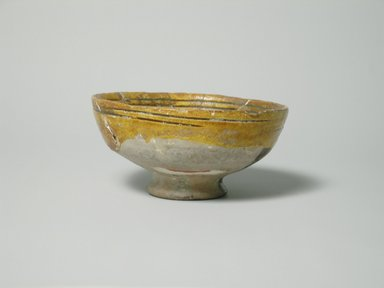 Byzantine. Bowl, 13th-14th century. Glazed pottery, Foot: 5/8 x 1 7/8 in. (1.6 x 4.8 cm). Brooklyn Museum, Gift of The Roebling Society, 73.30.3. Creative Commons-BY