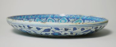 Shallow Plate, 16th century., 1 7/8 x 12 3/16 in. (4.8 x 30.9 cm). Brooklyn Museum, Gift of The Roebling Society, 73.30.5. Creative Commons-BY