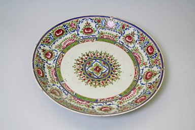 Dish, 19th century. Decorated ceramic, 2 1/4 x 13 in. (5.7 x 33 cm). Brooklyn Museum, Gift of Mr. and Mrs. Charles K. Wilkinson, 74.102.4. Creative Commons-BY
