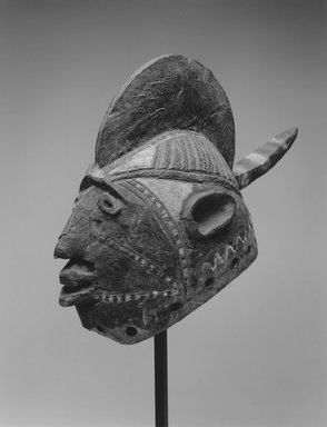 Mossi. Wan-balinga Mask, early 20th century. Wood, pigment, 10 x 6 x 14 1/2in. (25.4 x 15.2 x 36.8cm). Brooklyn Museum, Gift of Marcia and John Friede, 74.121.4. Creative Commons-BY