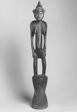 Senufo. Rhythm Pounder (Siibele), late 19th or early 20th century. Wood, 40 1/2 x 6 x 6 1/2 in. (102.9 x 15.2 x 16.5 cm). Brooklyn Museum, Gift of Rosemary and George Lois, 74.214. Creative Commons-BY