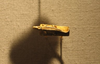 Ring. Gold, 1 x 1 3/16 in. (2.5 x 3 cm). Brooklyn Museum, Charles Edwin Wilbour Fund, 74.21. Creative Commons-BY
