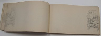 Brooklyn Museum: Sketchbook, English and French Landscape and Coastal Subjects