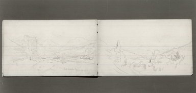 Brooklyn Museum: Sketchbook, Adirondack Subjects