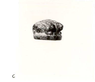 Statuette of Hedgehog, about 3000 B.C.E. Stone, 15/16 x 1 5/16 x 1 5/16 in. (2.4 x 3.3 x 3.4 cm). Brooklyn Museum, Charles Edwin Wilbour Fund, 75.51. Creative Commons-BY