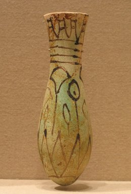 Ointment Flask which Has Papyrus Plants Upon It