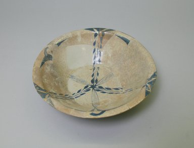 Bowl, 9th century. Ceramic, glaze, 2 3/8 x 8 1/4 in. (6 x 21 cm). Brooklyn Museum, Gift of Mr. and Mrs. Carl L. Selden in honor of Charles K. Wilkinson, 75.9. Creative Commons-BY