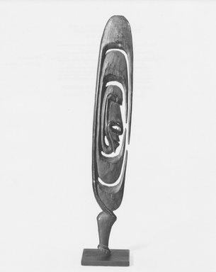 Arambak. Amulet. Wood, 11 1/2 x 1 3/4 in. (29.2 x 4.5 cm). Brooklyn Museum, Frank L. Babbott Fund, 80.156. Creative Commons-BY
