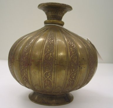 Lota, 19th century. Brass, 7 1/4 x 2 1/2 in. (18.4 x 6.4 cm). Brooklyn Museum, Anonymous gift, 80.184.1. Creative Commons-BY