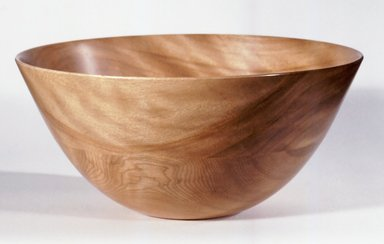 James Prestini (American, 1908-1993). Bowl, ca. 1943-1953. Birch, 4 7/8 x 10 3/8 x 10 3/8 in. (12.4 x 26.4 x 26.4 cm). Brooklyn Museum, Gift of Professor James Prestini, 81.113.7. Creative Commons-BY
